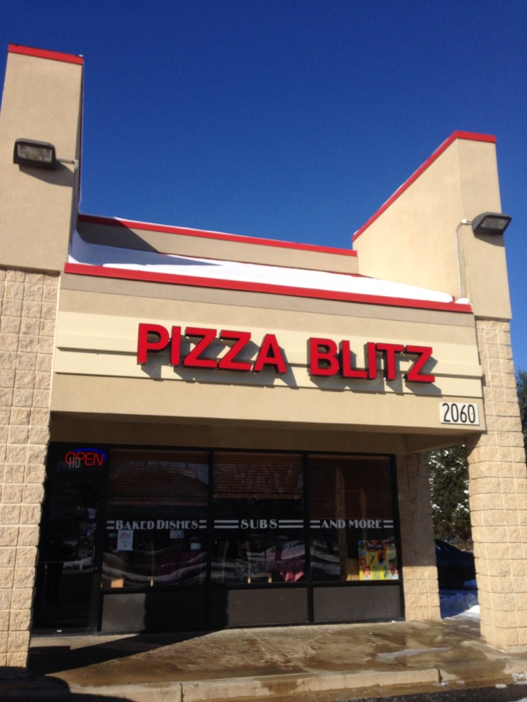 The Pizza Blitz In Frederick Md Is Conveniently Located Walnut Ridge Ping Center On Rosemont Avenue